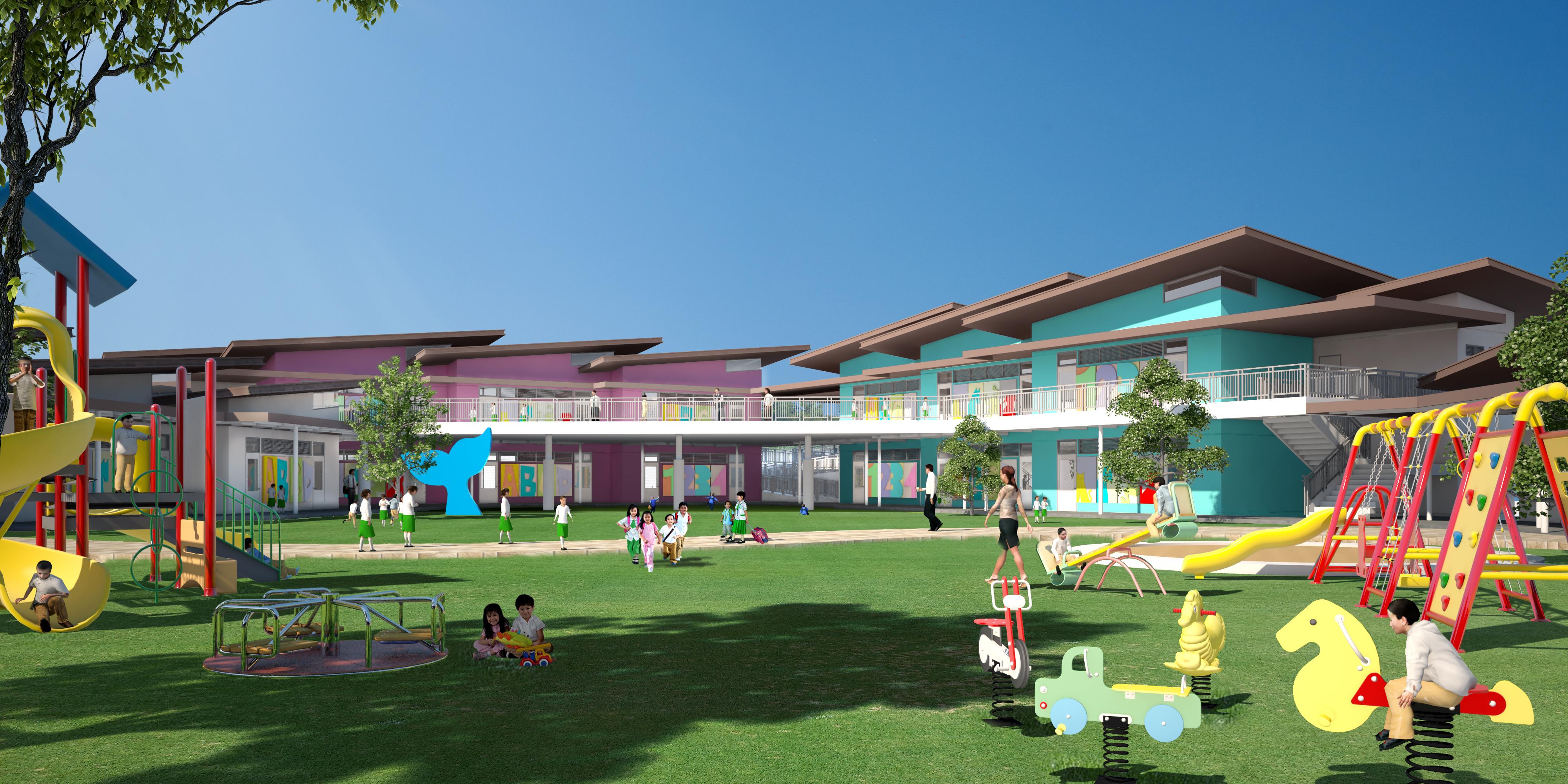 Miriam College Nuvali Grade School BLDG